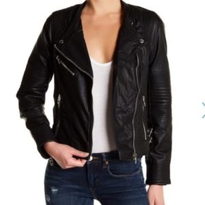 Blank NYC Leather Jacket (S)